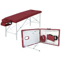 Складной массажный стол с подголовником производства Санига