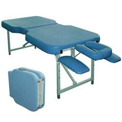 Прочный финский складной массажный стол Fysiotech Compact Maxi