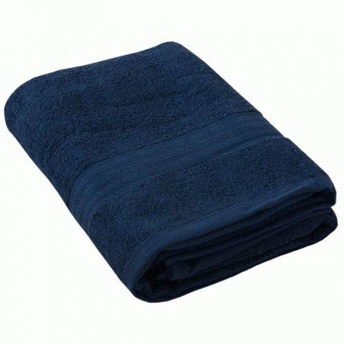Полотенце махровое - Темно-синий 50х90, 1 шт