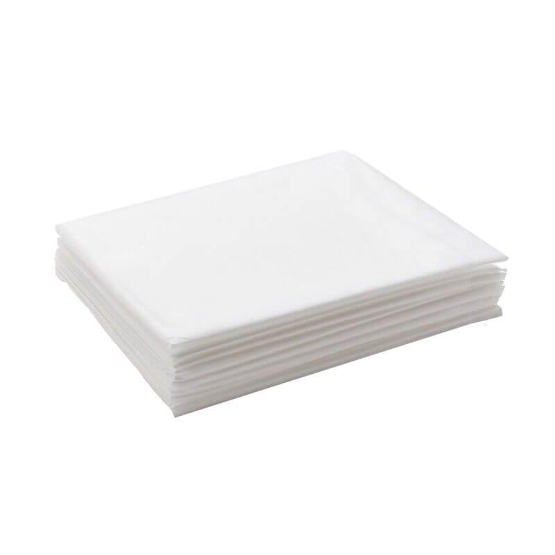 Простыни спанбонд ламинированный 10 шт. - Белый, 200х70 см, 10 штук