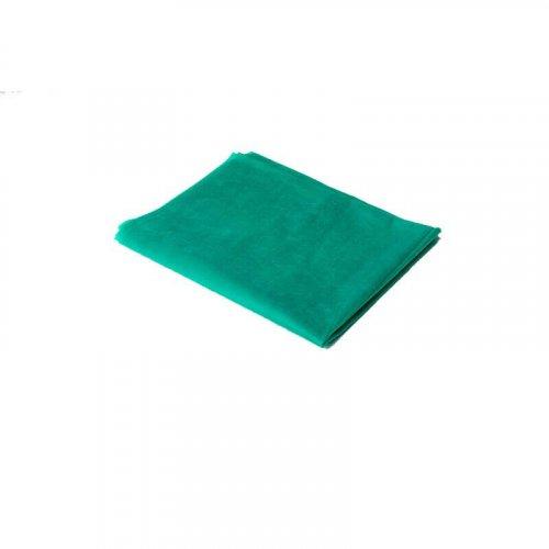 Простыня спанбонд люкс 10 шт - Зеленый, размер 200х70 см,  упаковка 10 шт