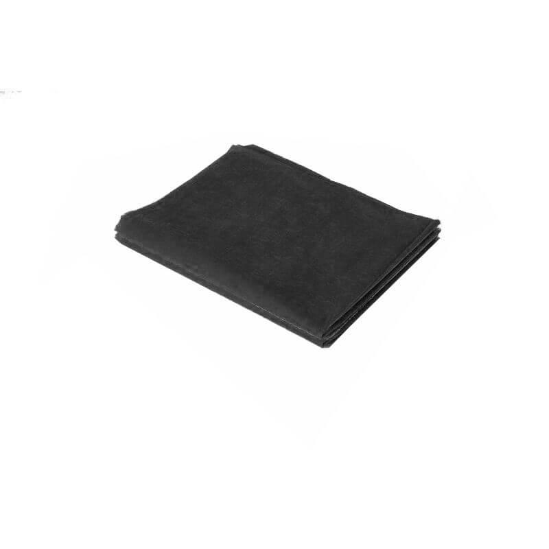 Простыня спанбонд люкс 10 шт - Черный, 200х90 см, 10 штук