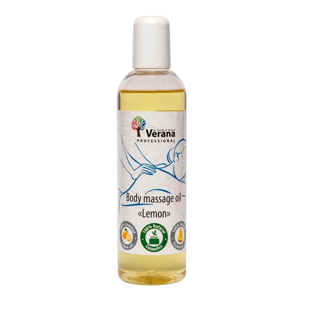 Verana - масло массажное 0,25 литра - Лимон для тела