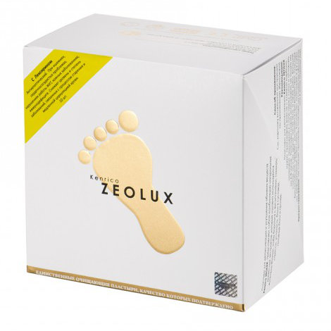 Kenrico ZEOLUX Superior - 20 пластырей с лексирином