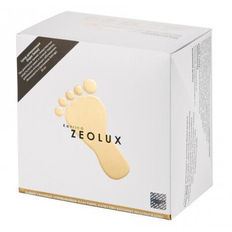 Kenrico ZEOLUX Super Detox - 20 детоксикационных пластырей